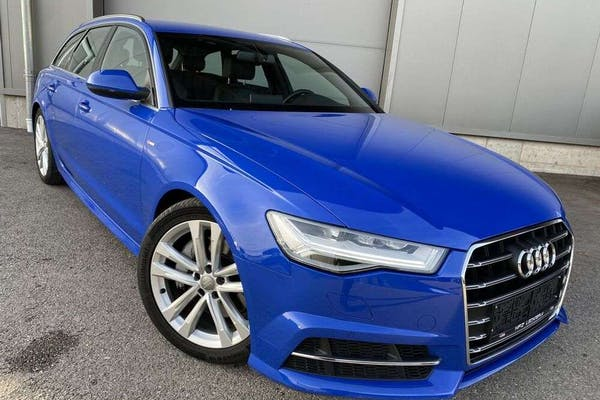"Audi A6 3.0 TDI S-tronic S line""AHK*LED*Nogaroblau"" bei Kfz Lechner GmbH in"