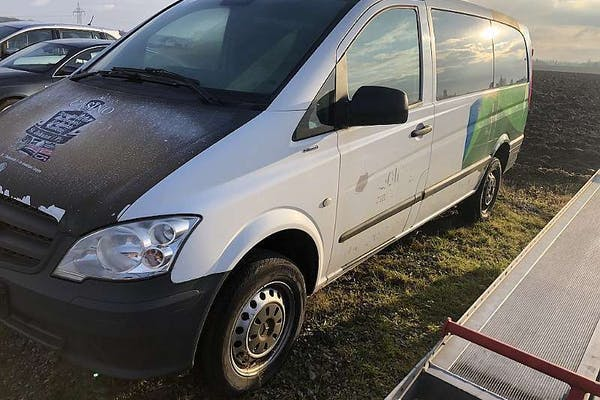 Mercedes-Benz Vito 113 CDI BlueEfficiency lang Allrad Aut. bei Kfz Lechner GmbH in